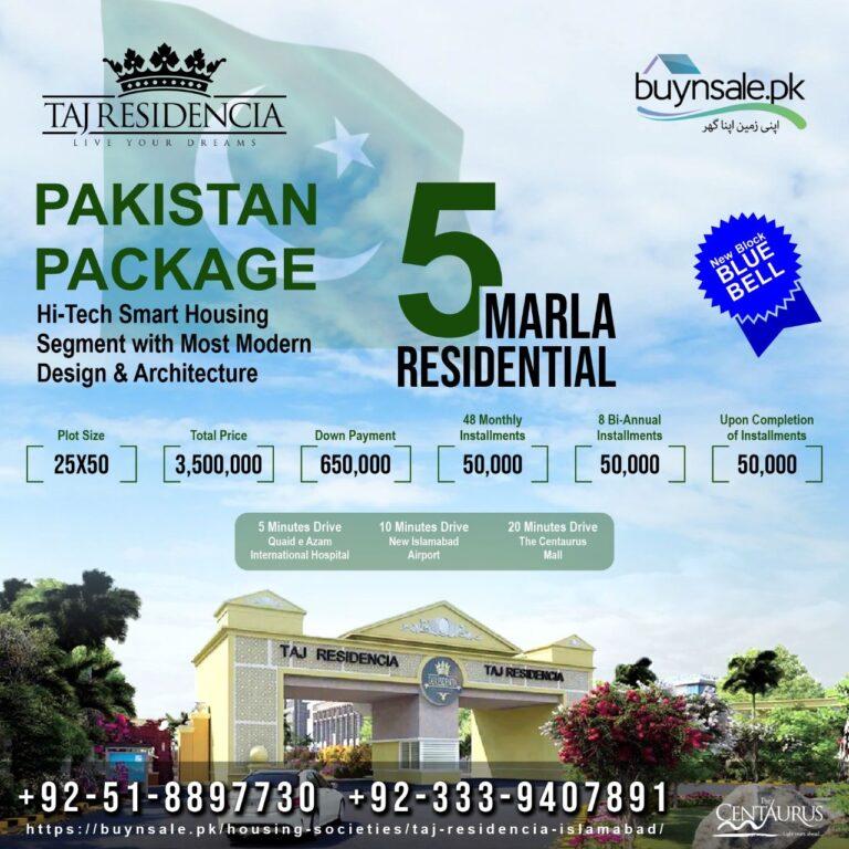 Taj Residencia Islamabad
